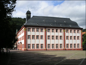 Heidelberg, Alte Universität (Photo: Wolfgang Metzger)