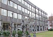 Das Gebäude der Bereichsbibliothek Altertumswissenschaft
