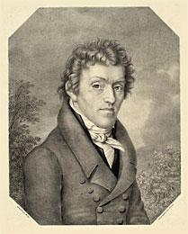Lithographie von Joseph Nikolaus Peroux nach einem Gemälde von Jakob Wilhelm Christian Roux Signatur UB: Graph. Slg. P 328