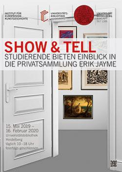 Ausstellung: Show & Tell. Studierende bieten