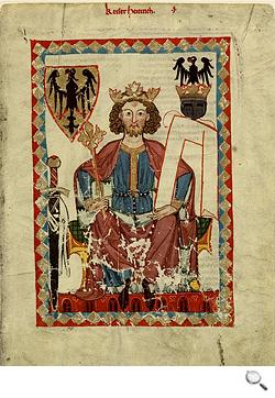 Codex Manesse (Cod. Pal. germ. 848), Kaiser Heinrich VI