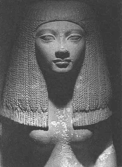 Statuengruppe Kairo CG 628, Neg.-Nr. 5/21