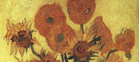 Abbildung: Vincent van Gogh, Sonnenblumen, 1889