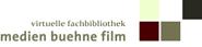 Logo Virtuelle Fachbibliothek 'medien buehne film'