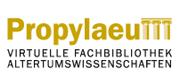 Logo Virtuelle Fachbibliothek Altertumswissenschaften 'Propylaeum'
