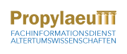 Logo Fachinformationsdienst Altertumswissenschaften 'Propylaeum'