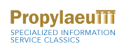 Logo Virtual Library Classical Studies 'Propylaeum'