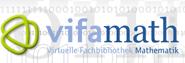 Logo Virtuelle Fachbibliothek Mathematik vifamath.de