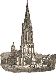 Stich: Freiburger Münster