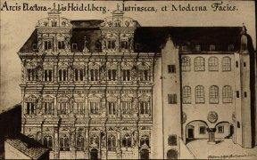 Abbildung des Heidelberger Schlosses