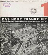 Das neue Frankfurt: internationale Monatsschrift für die Probleme kultureller Neugestaltung