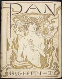 Vorderer Buchdeckel: Abbildung des Pan
