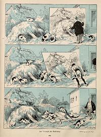 'Triumph des Realismus' aus: Jugend 1896, Bd. 1, Nr. 25