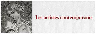 Les artistes contemporains