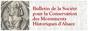 Bulletin de la Société pour la Conservation des Monuments Historiques d'Alsace