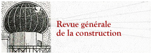 Revue générale de la construction