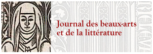 Journal des beaux-arts et de la littérature
