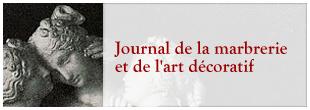 Journal de la marbrerie et de l'art décoratif