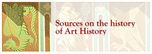 Dragon: sources on the history of Art History