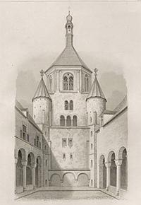 Stich: Münsterkirche zu Essen