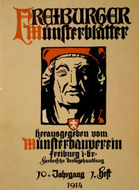 Freiburger Münsterblätter: cover of vol. 10