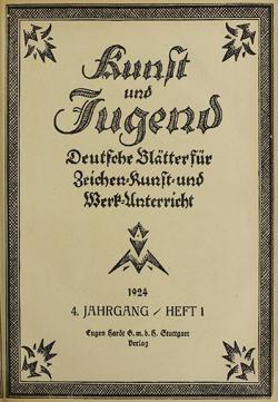 Titelblatt Kunst und Jugend, N.F. 4.1924